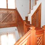 Escaleritas hacia las habitaciones