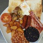 Breakfast served 9am until 12noon. Monday until Saturday