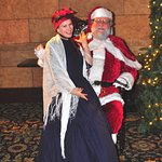 Festival Choral Carolers concert included Father Christmas