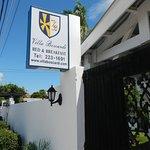Entry to Villa Boscari