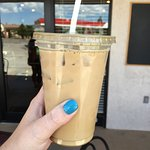 Delicious coffee! I got a iced white mocha coffee and it was very good! Price is fair, similar t