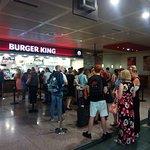 Burger King Queue for 40min