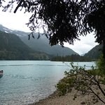 View from the North Cascades Environmental Learning Center - notice the lovely boat on the left