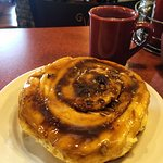 The famous caramel roll (pecan-studded sweet delight)
