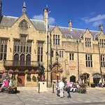 Durham Town Hall and Market Place