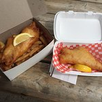 Fish Dinner with Extra Filet - M & M Chip Stand, Kirkland Lake ON