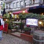 Restaurant mit Terrasse an der Schloßstraße