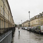 Great Pulteney Street - probably the grandest street in Bath!