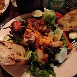 Seared Scallops and Grilled Veggie Salad (Special)