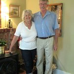 The wonderful owners who make this an excellent choice for vacationing in the Grand Pre area