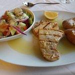 Halbpension - Tunfischsteak: wirklich klasse !!!