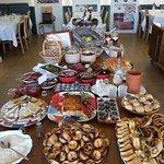 potugisisches Spezialitätenbuffet zum Frühstück - weltklasse