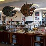 Frühstücksbuffet mit Restaurant