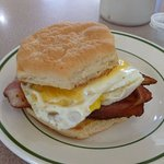 Bacon & Egg Biscuit...