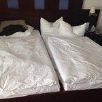 So sehen hier gemachte Betten aus