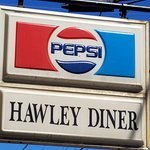 A Vintage Hawley Sign~