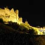 carcassonne by night