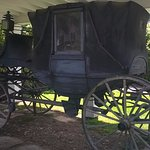 Carriage outside the General Lewis, Lewisburg, WV.