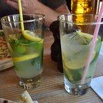 mint lemonade, really nice