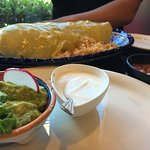 HUGE burrito! Loco burrito is amazing and Ginormous!!! You'll have leftovers for the rest of the