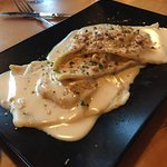 Butternut ravioli