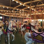 Great place for young and not so young. Awesome rides and great food