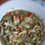 Chicken Noodle Soup - Home made