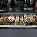 the selection available at Grillo's Bakery Cafe