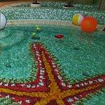 parte della piscina per bambini