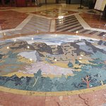 The Tile Mural in the Lobby