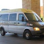 The spacious Van