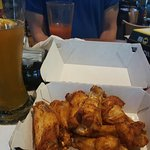 Chipotle BBQ traditional wings
