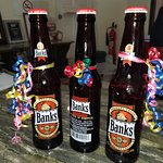 The beer of Barbados.. complimentary!