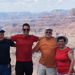 Family Picture at the Grand Canyon 8/7/16