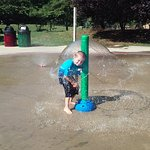 Village park splash pad
