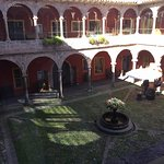 View of courtyard