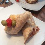 Chicken Parm Wrap