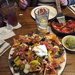 First stop here for me and I got this monster nacho thing!