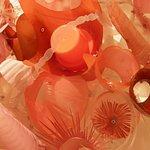 Plastic as art - close-up