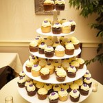 Cupcakes at my wedding (Made by European Bakery)