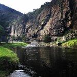 Campsites on the river's edge