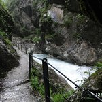 Walking along the gorge