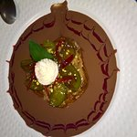 FRAICHEUR DE REINE CLAUDE AU CACAO DE PAPOUASIE ....un orgasme culinaire !!!!!!!