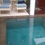 privé zwembad Bij de suite