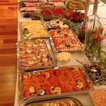 Großes Frühstücksbuffet für Feiern ....