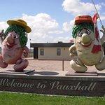 Samantha & Sammy Spud (Vauxhall Mascots)
