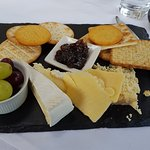 Lunchtime cheeseboard