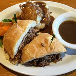 Prime Rib Sandwich-Disappointing
