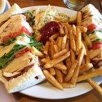 Excellent Clubhouse Sandwich