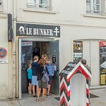 "Entrance to the ""Le Bunker"" museum in La Rochelle"